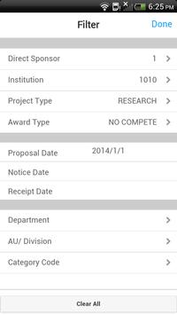 Infor Lawson Mobile Grants apk screenshot