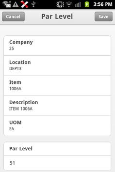 Infor Lawson Mobile Inventory apk screenshot