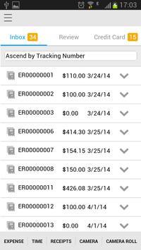 Infor Expense Management apk screenshot
