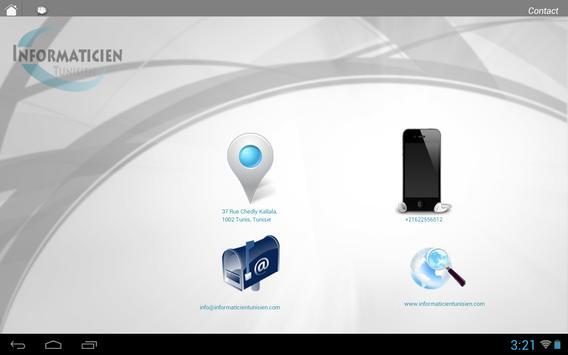 Informaticien tunisien apk screenshot