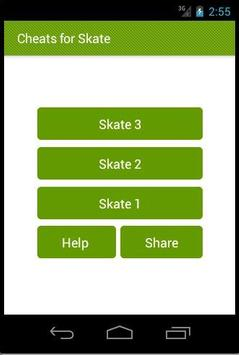 Cheats For Skate 3, 2 and 1 poster
