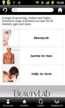 BeautyLab apk screenshot