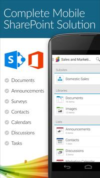 SharePlus - SharePoint Mobile poster