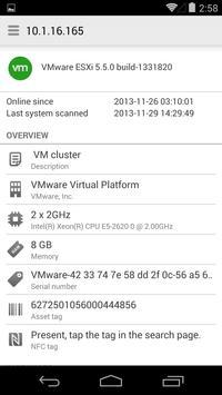 Server Admin-VMware+Active Dir apk screenshot