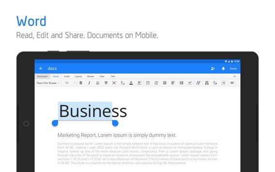 Polaris Office + PDF Editor apk screenshot