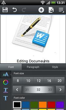 Polaris Office 4.0 apk screenshot