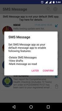 SMS Message apk screenshot