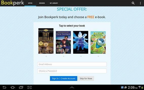 Bookperk daily e-book deals apk screenshot
