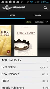 Oasis eBooks apk screenshot