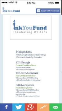 InkYouFund apk screenshot