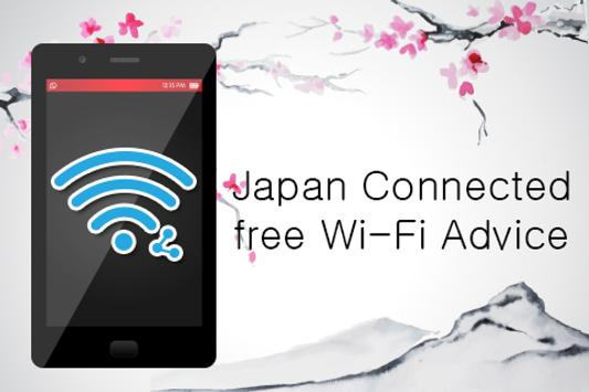 Japan Connect free WiFi Advice apk screenshot
