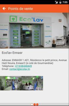Eco'lav Tunisie apk screenshot
