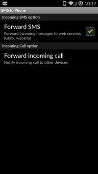 SMS to Phone apk screenshot