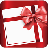 Wishes and greetings cards icon