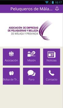 Peluqueros de Málaga apk screenshot