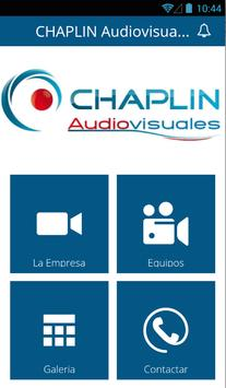 CHAPLIN Audiovisuales apk screenshot