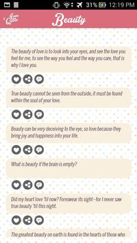 Love quotes for him apk screenshot