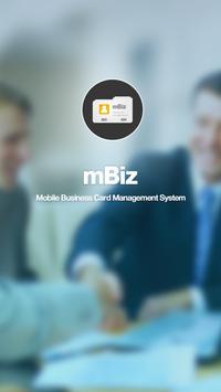 mBiz - 이노더스 모바일 명함관리 어플리케이션 poster