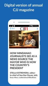 Cebu Journalism & Journalists apk screenshot