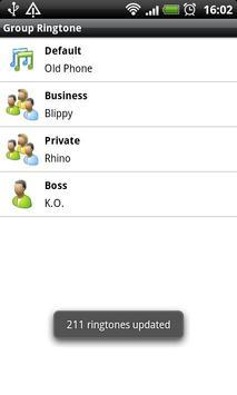 Group Ringtone Lite apk screenshot