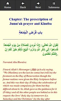 Hadit Shahih Bukhari (English) apk screenshot