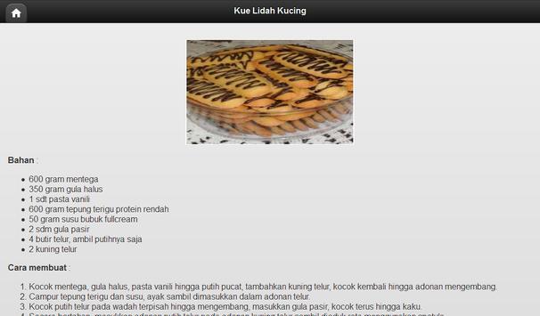 KUE LEBARAN (100++ Resep) apk screenshot