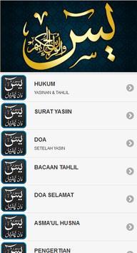 Yasin Tahlil dan Istighosah apk screenshot