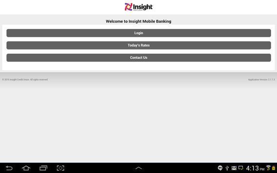 Insight CU Mobile apk screenshot