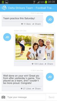 Hedzup Messenger apk screenshot