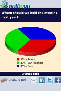 polltogo - Mobile poll maker apk screenshot