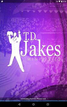 TD Jakes Ministries poster