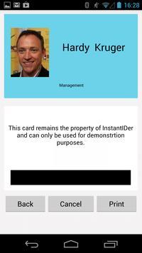 InstantIDer apk screenshot