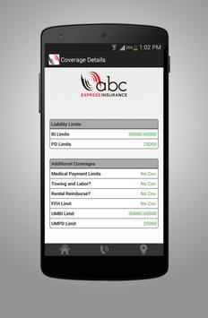 ABC Express Insurance apk screenshot