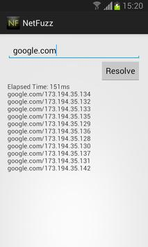 DNS Resolve apk screenshot