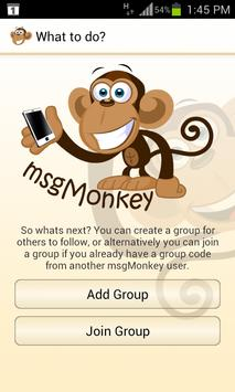 msgMonkey apk screenshot