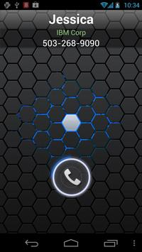 RocketDial CallerID Black Ring poster