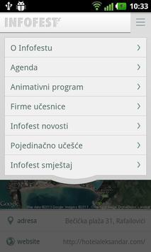 Infofest apk screenshot