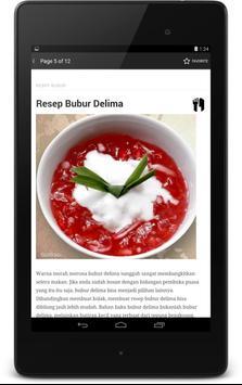 Resep Bubur apk screenshot