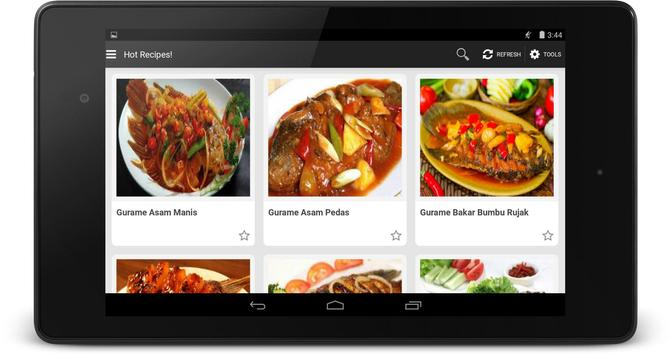Resep Gurame apk screenshot