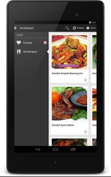 Resep Sambal apk screenshot