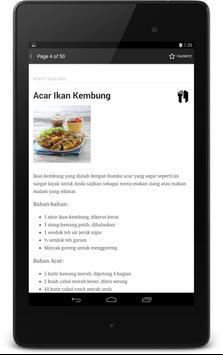 Resep Seafood apk screenshot