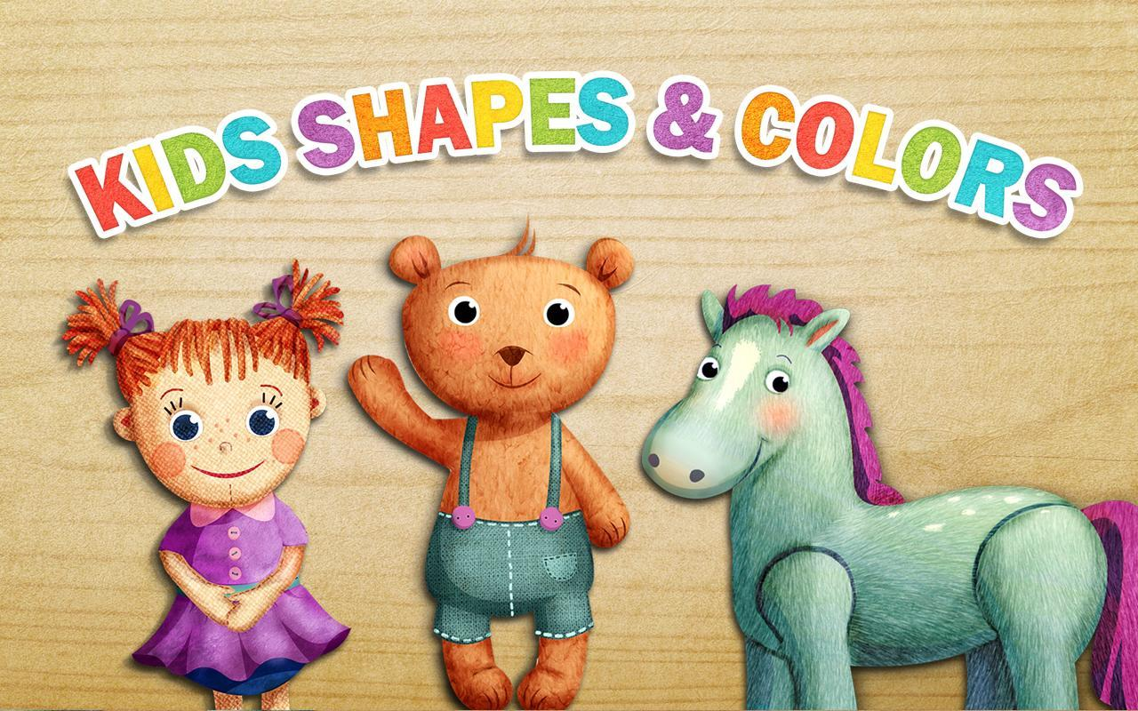 Worksheet Shapes And Colors For Kids kids shapes colors preschool apk download free educational screenshot