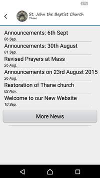 St. John the Baptist, Thane apk screenshot