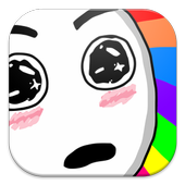 Troll Face Stickers for Chat icon