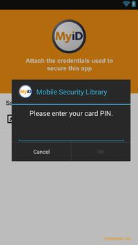 MyID Authenticator for Good apk screenshot