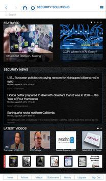 Security Solutions Magazine apk screenshot