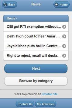 Lawyersclubindia apk screenshot