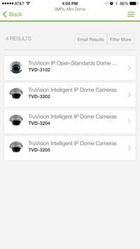 TruVision IP Camera Selector apk screenshot