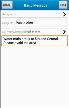 IMX Messages apk screenshot
