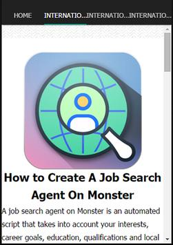 International Job Search apk screenshot